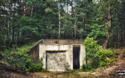 Radiówek opuszczona radiostacja kontrwywiadu bunkier schron